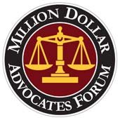 Million Dollar Advocates Forum Award